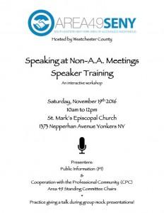 speakertraining