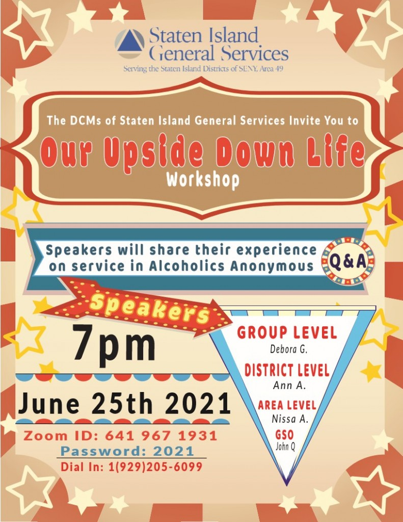 Our Upside Down Life Flyer_1